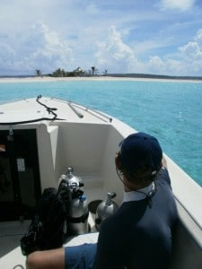 Sandy Island is great for snorkeling and scuba diving